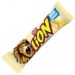 Lion Bar: White 3pc.