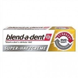 Blend-a-dent Duo Power denture cream