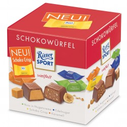 Ritter Sport Chocolate Cube:Red