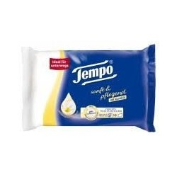 Tempo Gentle & Caring wet wipes