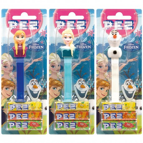 Disney Frozen PEZ Dispensers Set