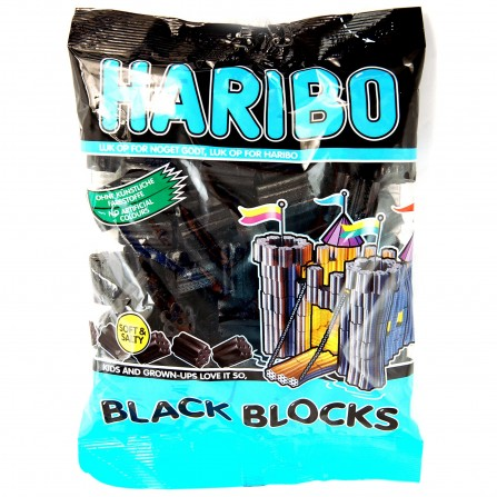 HARIBO Black Blocks