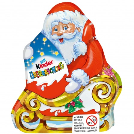 Kinder Chocolate Santa with egg