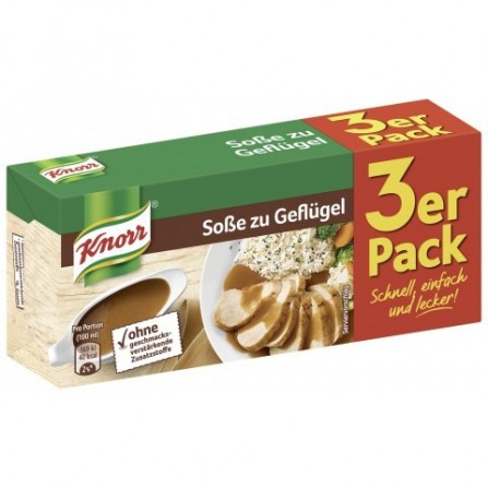 Knorr Poultry Sauce 3 pc.