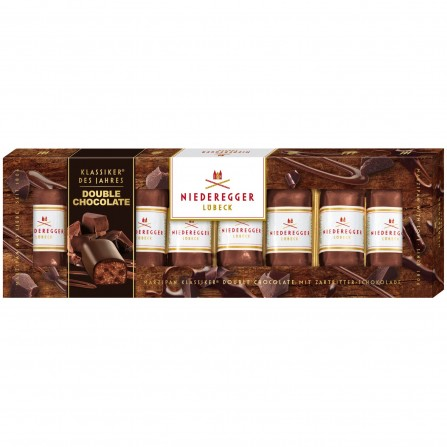 Niederegger Marzipan barrels: DOUBLE chocolate