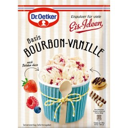 Dr.Oetker Ice Cream Powder: Bourbon-Vanilla