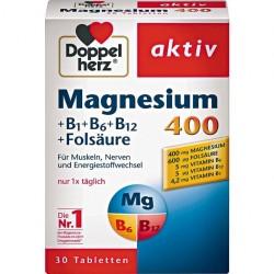Doppelherz Magnesium 400 + B1 + B6 + B12 + Folic acid