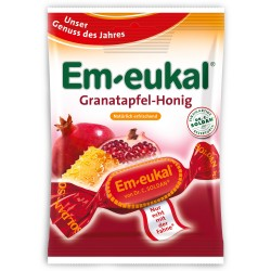 Em-Eukal Pomegranate Honey lozenges