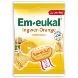 Em-Eukal Ginger Orange lozenges