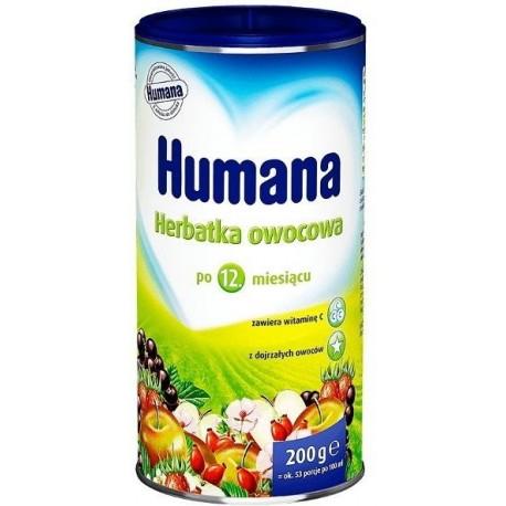 HUMANA Fruit baby tea
