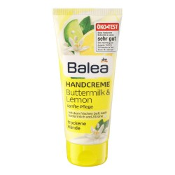 Balea Lemon Buttermilk hand lotion