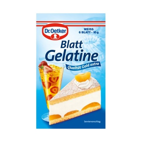 Dr.Oetker Gelatine Leaves
