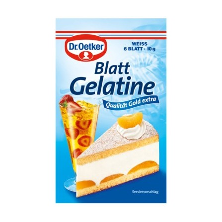 dr oetker gelatine powder instructions