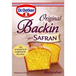 Dr.Oetker baking soda w/saffron