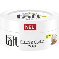 Taft Coconut Shine hair wax