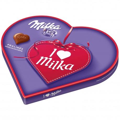 I love Milka Heart Pralines 187g