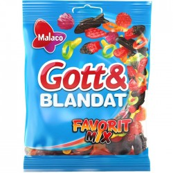 Malaco Gott & Blandat Favorit Mix