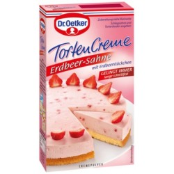 Dr.Oetker Torten Creme Strawberry Cake