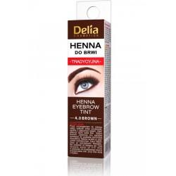 Delia Cosmetics Eyebrow Tint Henna 4.0 Brown