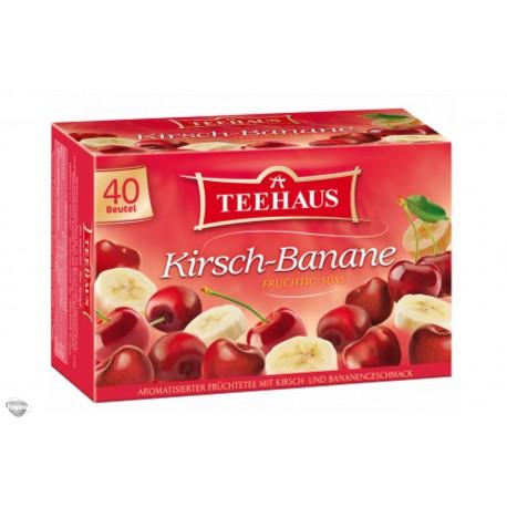 Teehaus Cherry Banana tea XL 40 bags