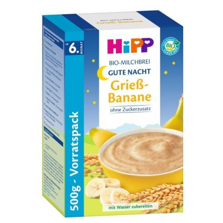 HiPP Organic Semolina Banana