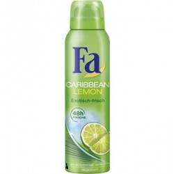 Fa Caribbean Lemon Deodorant Spray