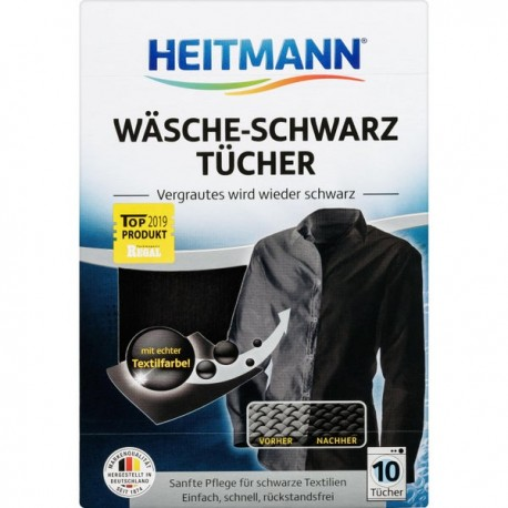 Heitmann DARK colors in-laundry sheets