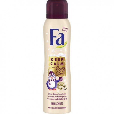 Fa Keep Calm & Love Snow Deodorant Spray