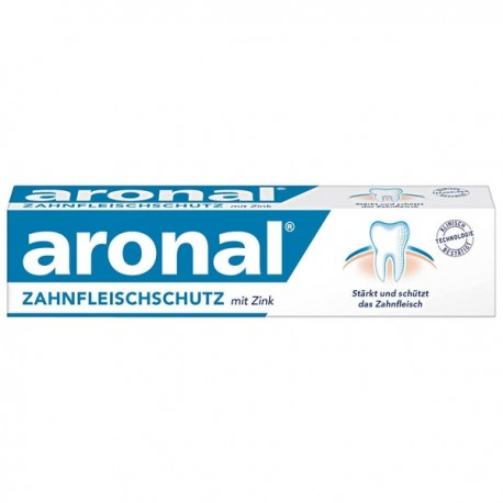 Aronal bleeding gums protection