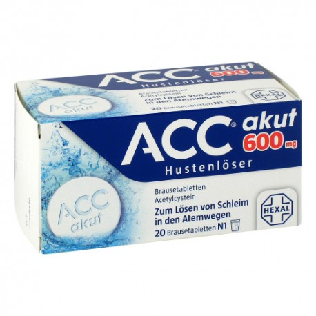A-C-C mucus dissolving effervescent tablets