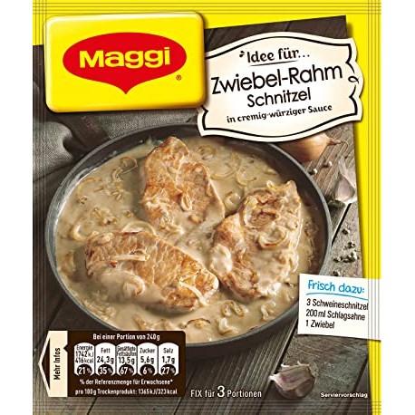 Maggi Cream of Onion Schnitzel