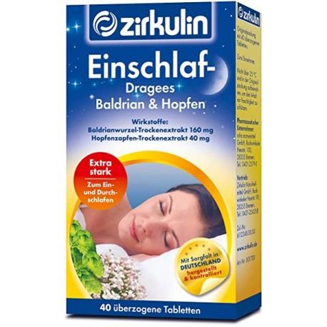 Zirkulin sleeping aid pills