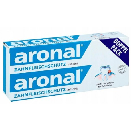 Aronal bleeding gums protection DOUBLE PACK