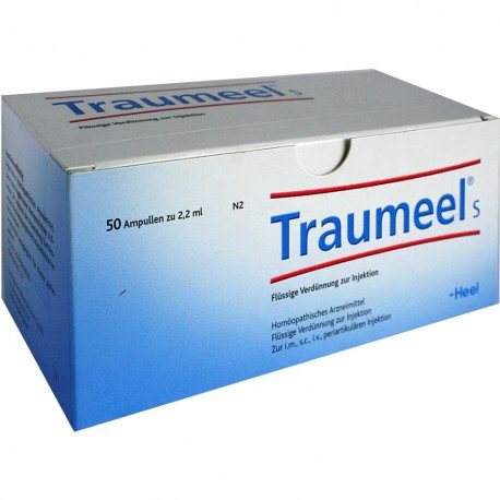 Traumeel AMPOULES XL pack 100