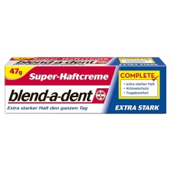 Blend-a-dent Extra Fresh denture cream 47g