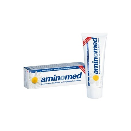Aminomed Chamomile Fluoride toothpaste