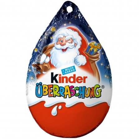 Kinder Surprise egg ornament