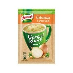 Knorr Goracy Kubek : Onion Soup 5pc