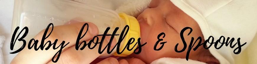 Baby bottles & Spoons