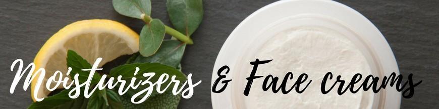 Moisturizers & Face creams